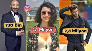 Düşükten Yükseğe: Ünlü Türk Oyuncularımızın Instagram'daki Takipçi Sayıları Ne Kadar?