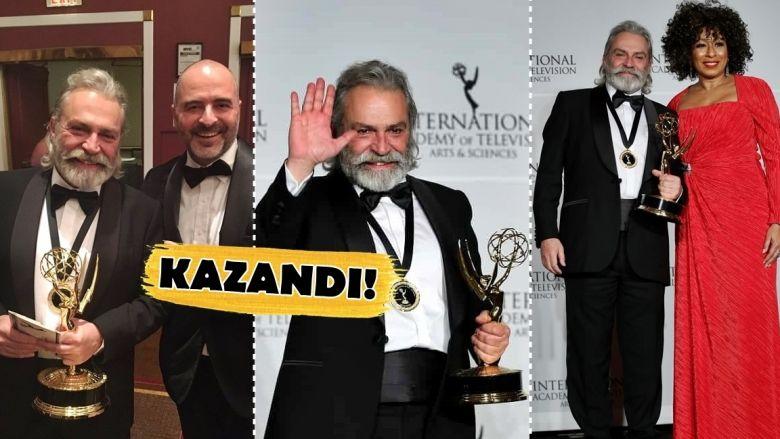 """Kazandı! Haluk Bilginer, Emmy Ödülleri'nde """"En İyi Erkek Oyuncu"""" Seçildi!"""