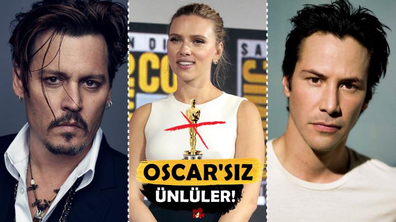 Şaka Değil! Kariyerinde Hiç Oscar Alamamış 12 Aşırı Ünlü Oyuncu