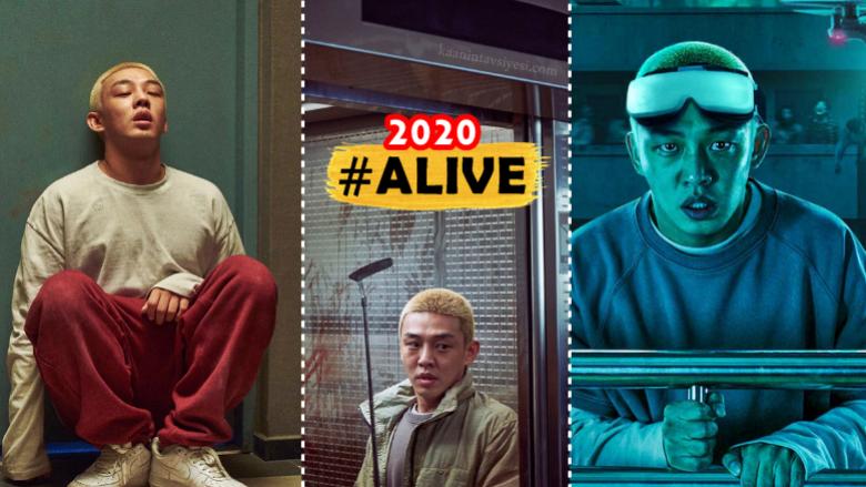 Güney Kore'nin Zombili Virüslü #EvdeKal Temalı Yeni Filmi; #Alive
