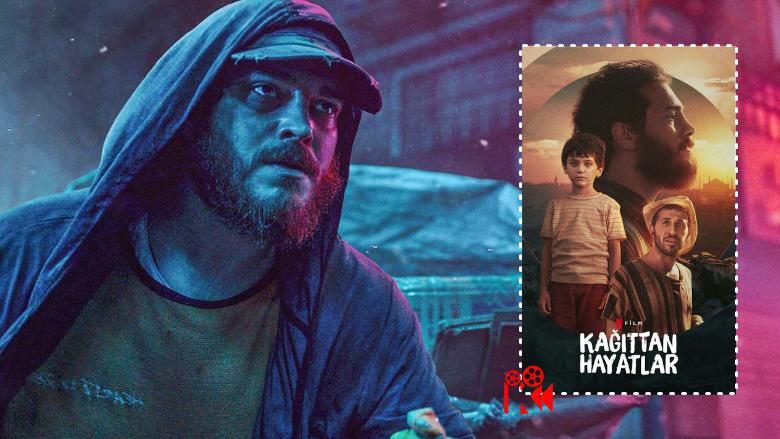 """Netflix'in Çağatay Ulusoy Başrollü Filmi """"Kağıttan Hayatlar"""" İzlenir mi? Konusu Ne?"""