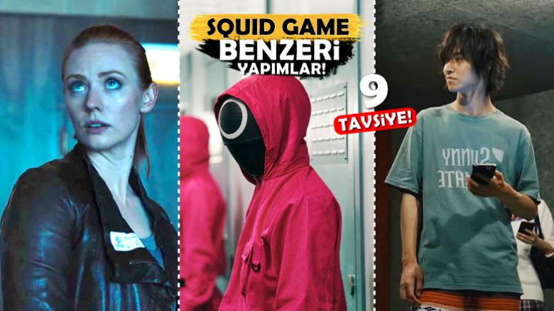 Squid Game Benzeri, Yarışması ve Bulmacası Bol 9 İyi Tavsiye!