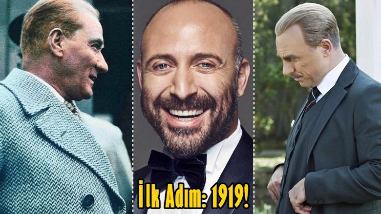 Halit Ergenç Canlandıracak! En Yüksek Bütçeli Atatürk Filmi İlk Adım: 1919 Geliyor!