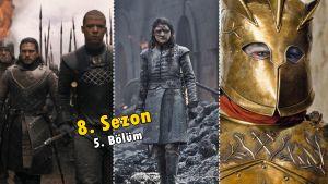 Game of Thrones 8. Sezon 5. Bölümde Neler Oldu? Detaylar | İnceleme